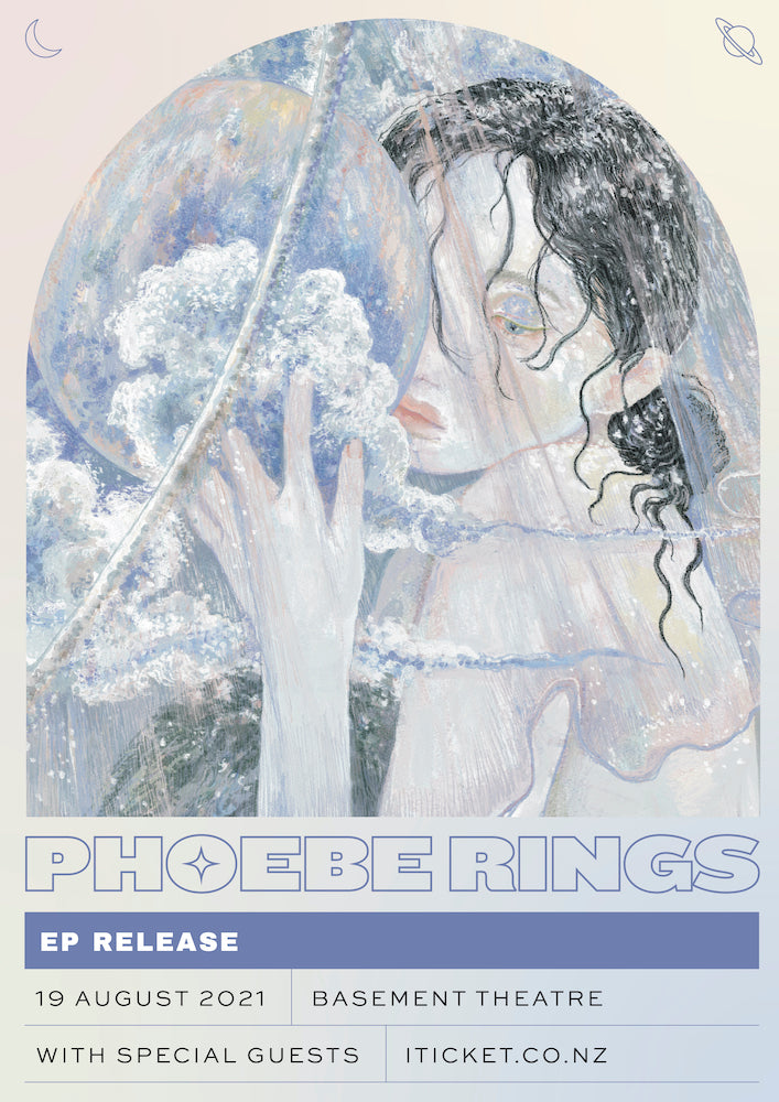 Phoebe Rings EP Release Show poster