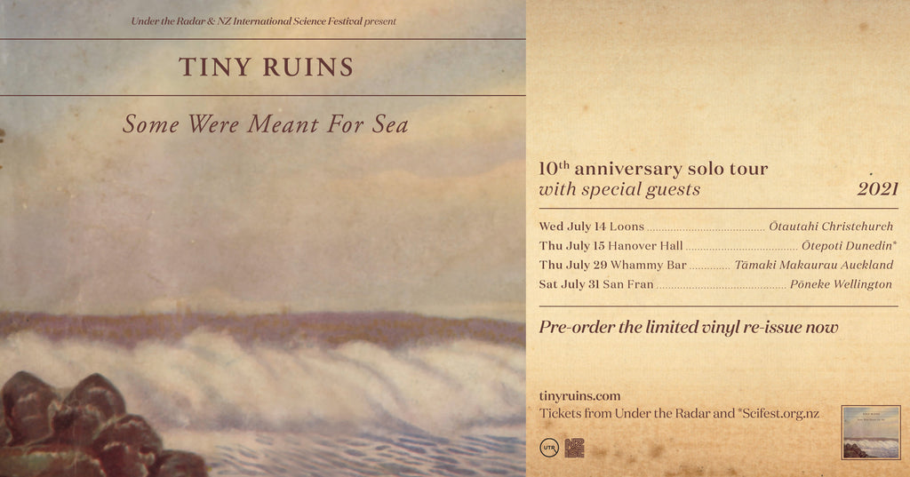 Tiny Ruins - Some Were Meant For Sea 10th Anniversary solo tour