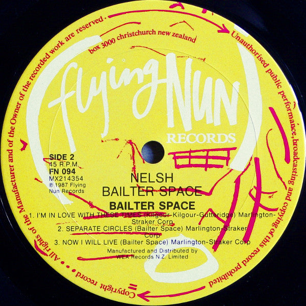 FN094 Bailter Space - Nelsh Bailter Space (1987)
