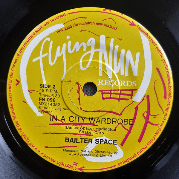 FN096 Bailter Space - New Man (1987)