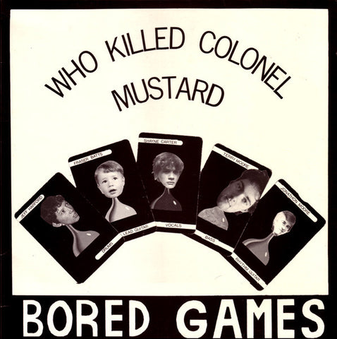Bored Games - Who Killed Colonel Mustard ‎(2014)