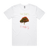 The Bats Foothills T-Shirt (White)
