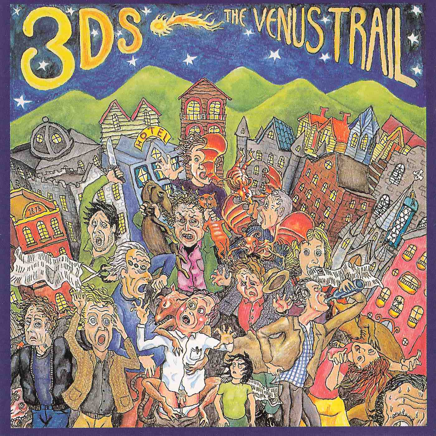 3Ds, The - The Venus Trail (1993)