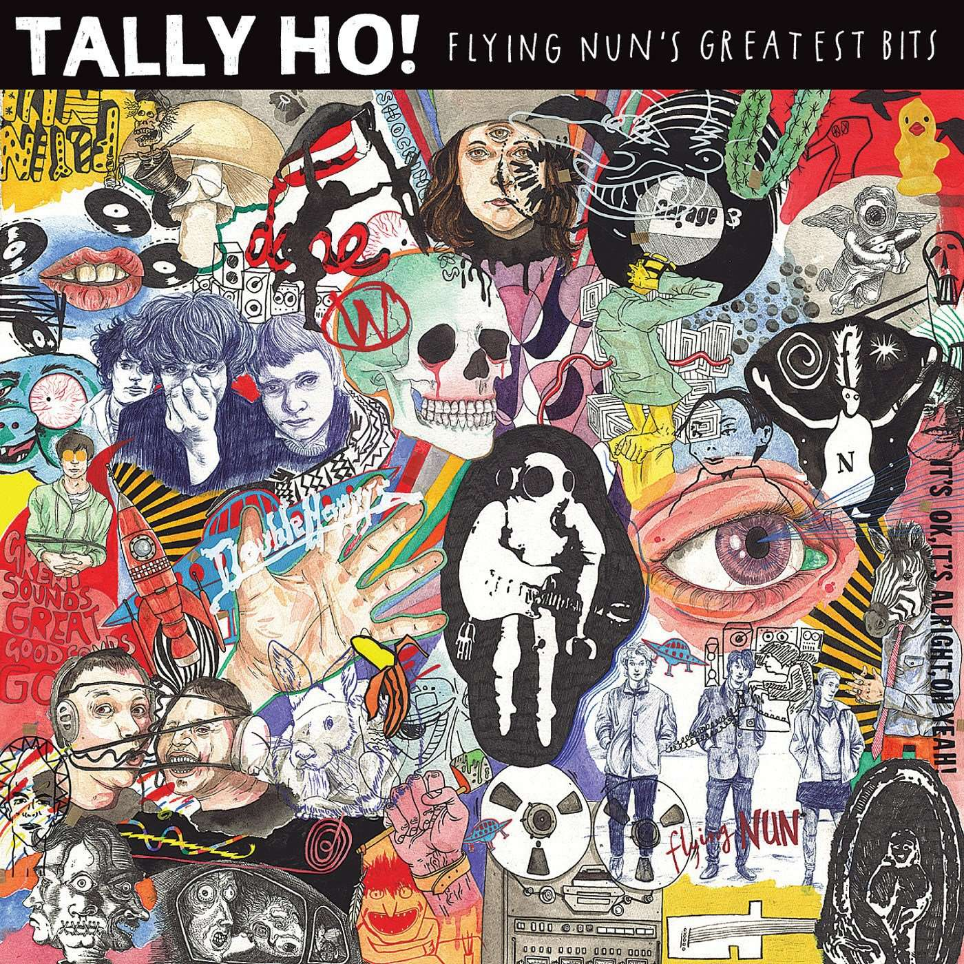 FN517 Various - Tally Ho! Flying Nun's Greatest Bits (2011)