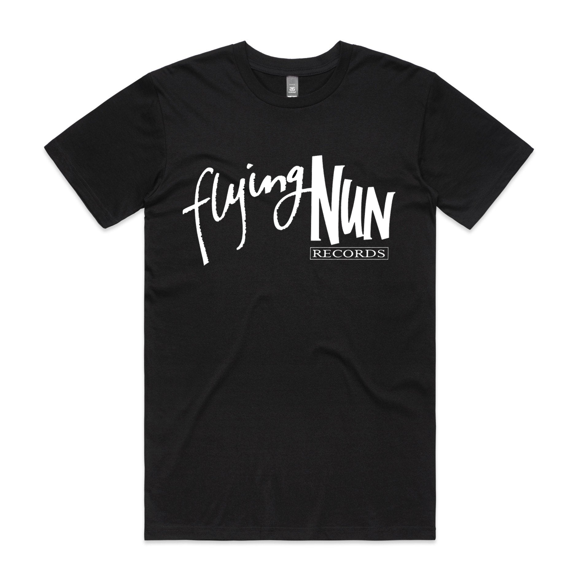 90s Logo Flying Nun T-Shirt (Black)