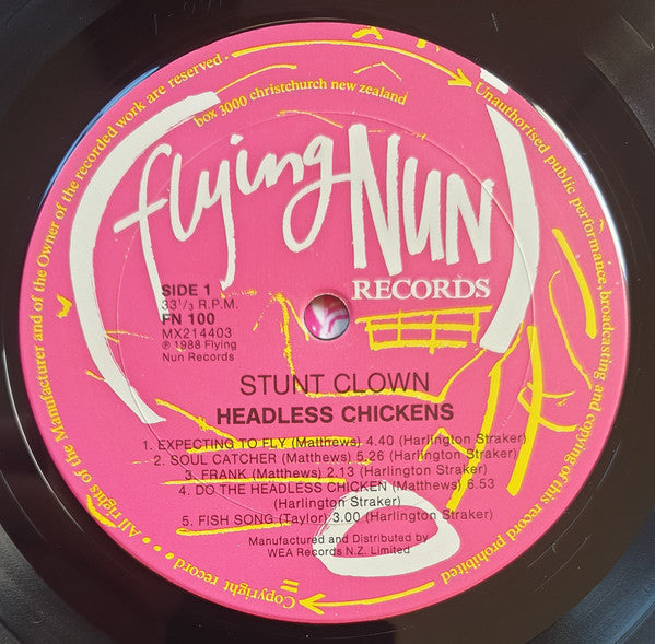 FN100 Headless Chickens - Stunt Clown (1988)
