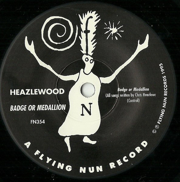 FN354 Heazlewood - Badge Or Medallion? ‎(1995)