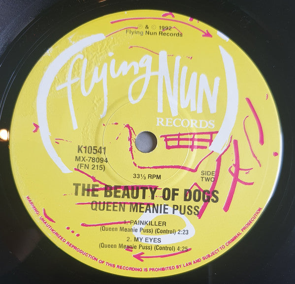 FN215 Queen Meanie Puss - The Beauty Of Dogs ‎(1991)