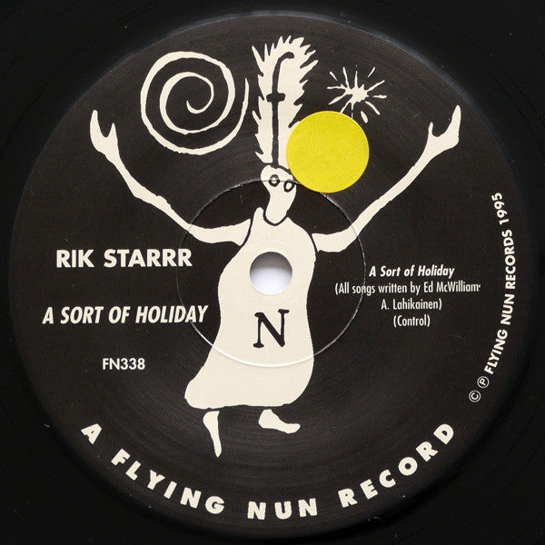 FN338 Rik Starrr - A Sort Of Holiday/Terry Is Here ‎(1995)