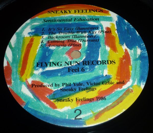 FEEL 6 Sneaky Feelings - Sentimental Education (1986)