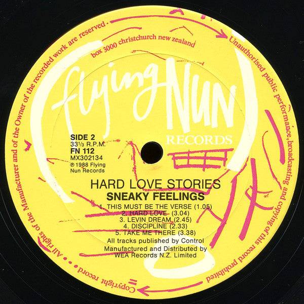 FN112 Sneaky Feelings - Hard Love Stories (1988)