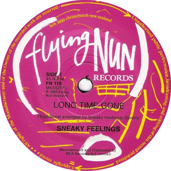 FN119 Sneaky Feelings - Long Time Gone (1988)