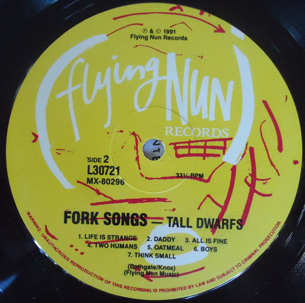 FN218 Tall Dwarfs - Fork Songs (1991)