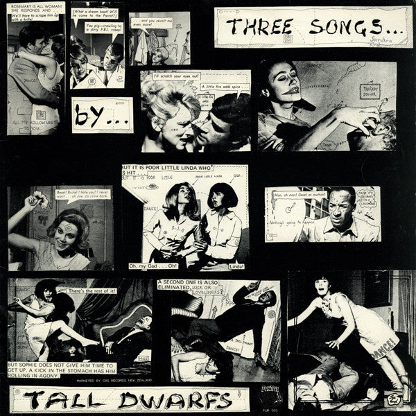 FNOT 1 Tall Dwarfs - Three Songs (1985)