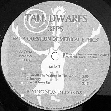 Tall Dwarfs - 3EPs ‎(1994)