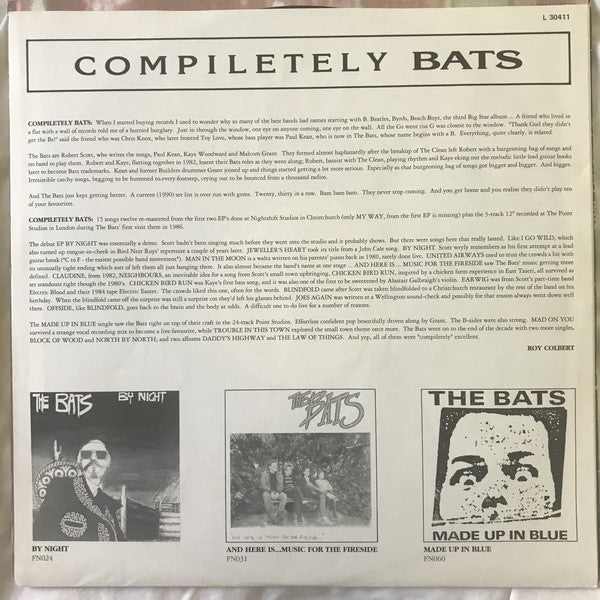 FN143 The Bats - Compiletely Bats (1990)