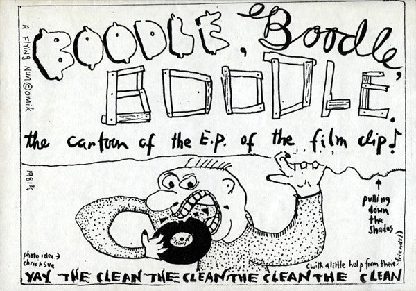 FN 003 The Clean ‎– Boodle, Boodle, Boodle (1981)