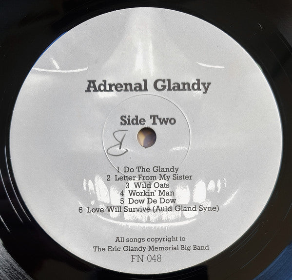 FN048 The Eric Glandy Memorial Big Band - Adrenal Glandy: Songs Of Love, Hate And Revenge (1986)
