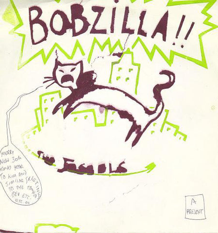 XMAS001 The Jessels - Bobzilla (1982)