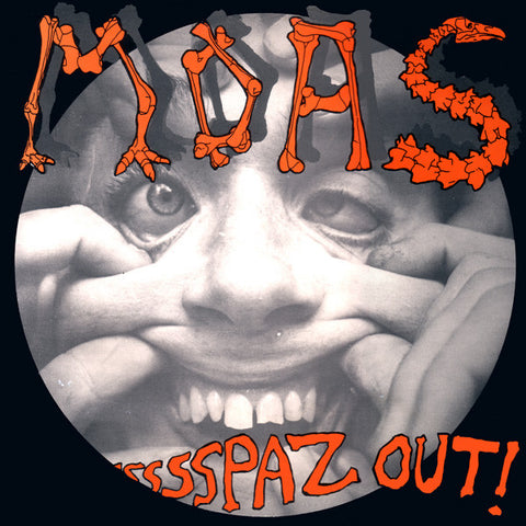 FN076 The Moas - Spaz Out! (1987)