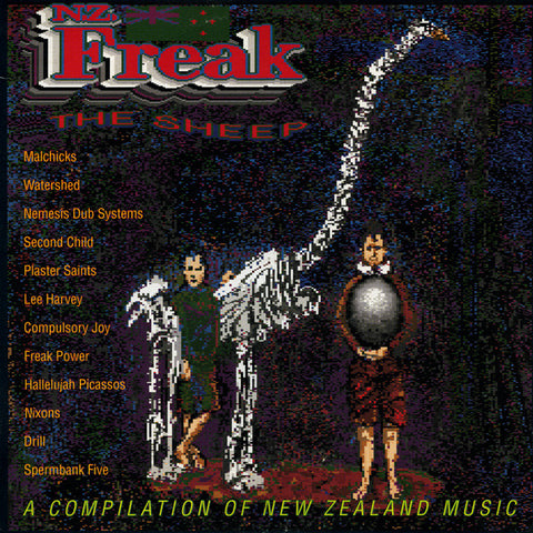 FN189 Various - Freak The Sheep (A Compilation Of New Zealand Music) ‎(1991)