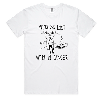 Voom - We're So Lost T-Shirt (White)