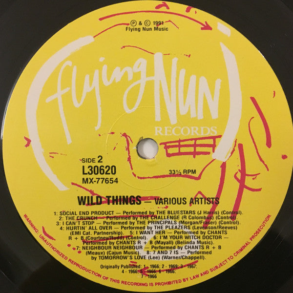 FN VLP-WT1 Various - Wild Things - Wyld Kiwi Garage 1966-1969 (1990)