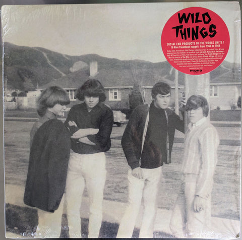Various  - Wild Things - New Zealand Freakbeat 1966 to 1968 (2018)