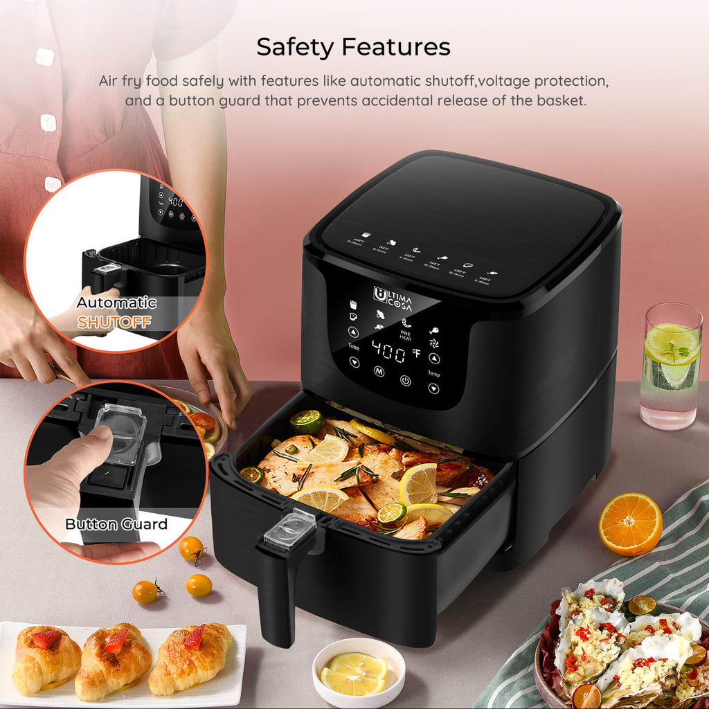 safety feature air fryer