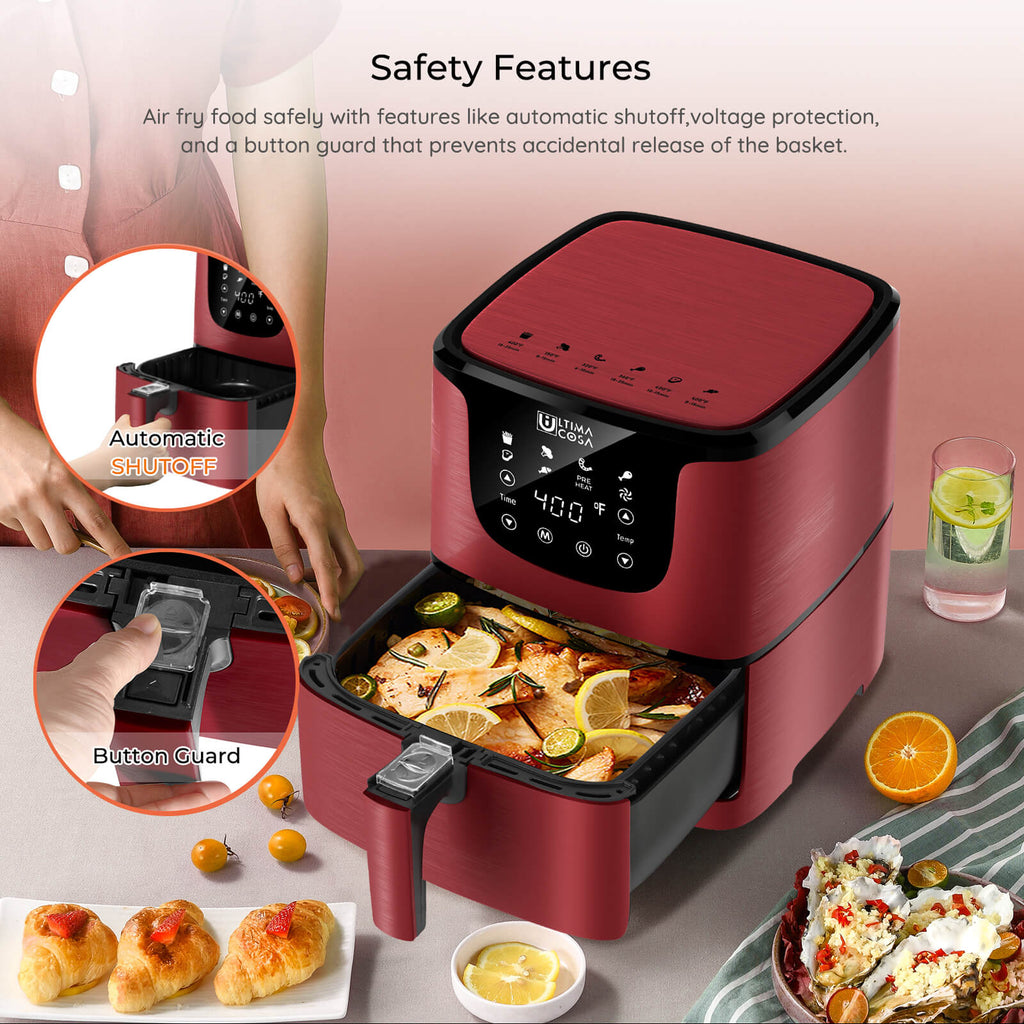 air fryer safety features