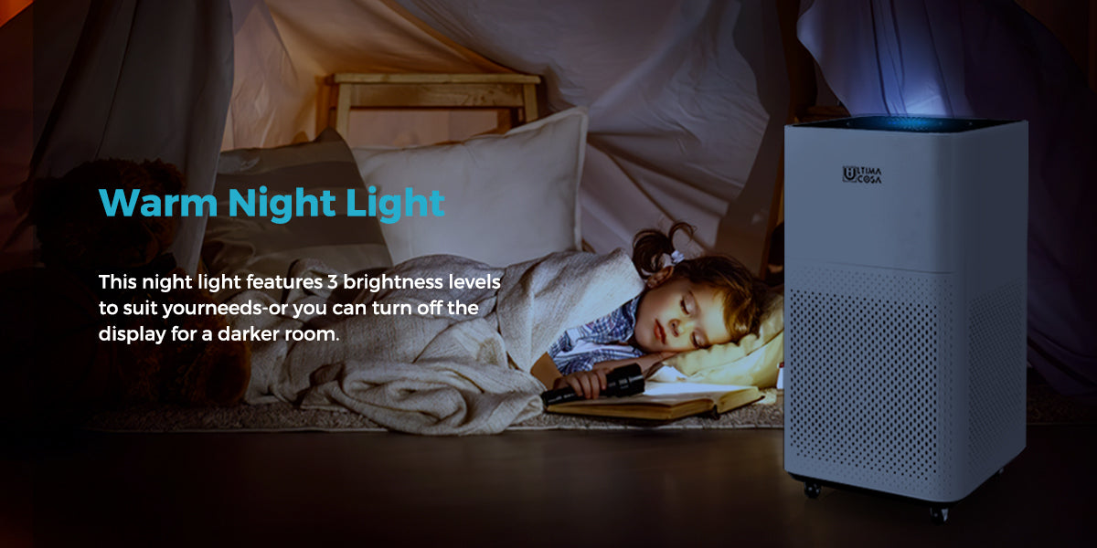 air purifier with night mode