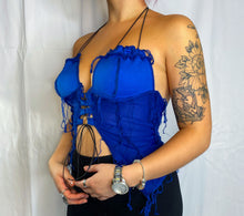 Load image into Gallery viewer, ONE OF A KIND LACE UP HALTER