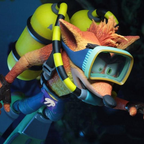 Crash Bandicoot Crash With Scuba Gear Deluxe
