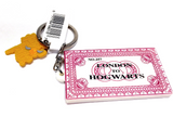 Harry Potter 3D Keyring Hogwarts Train Ticket
