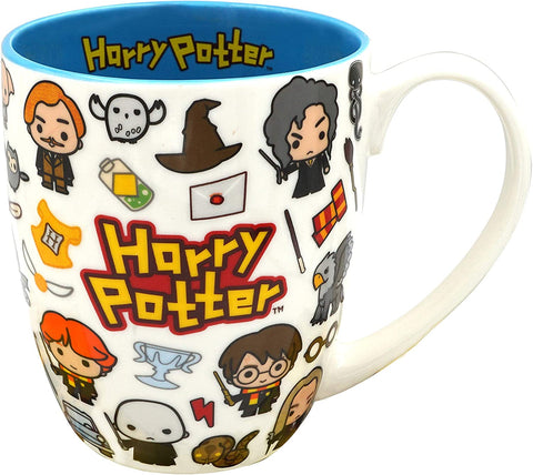 Harry Potter Kawaii Collage Taza