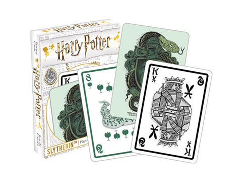 Harry Potter Slytherin Playing Cards Aquarius