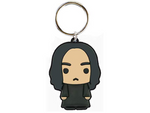 PVC Keyring Harry Potter Snape Soft Touch