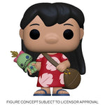 Pop! Disney Lilo & Stitch - Lilo With Scrump