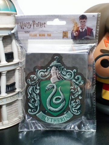 Harry Potter Deluxe Memo Pad Slytherin