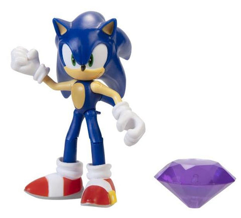 Sonic The Hedgehog Sonic Figure with Chaos Emerald