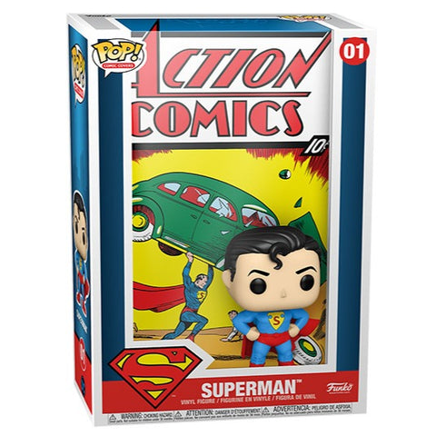 Pop! Comic Cover: DC Comics - Superman Action Comics