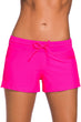 Load image into Gallery viewer, Pink or Black Swim Boardshorts