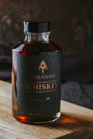 Wabanaki Maple Syrup - Whiskey 200mL