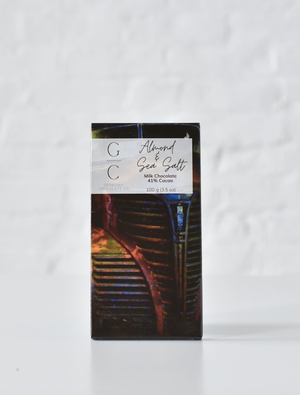 ALMOND & SEA SALT | milk chocolate