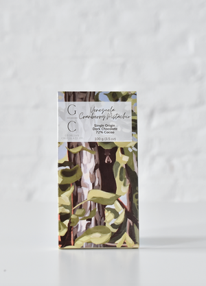 VENEZUELA CRANBERRY PISTACHIO | single origin | dark chocolate