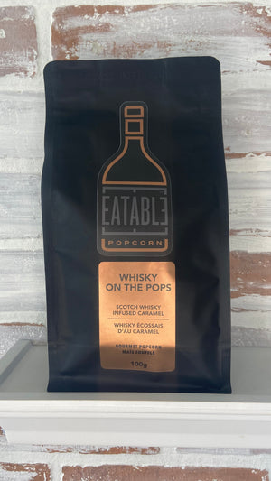 Eatable - Whiskey On The Rocks - GOURMET POPCORN 100g