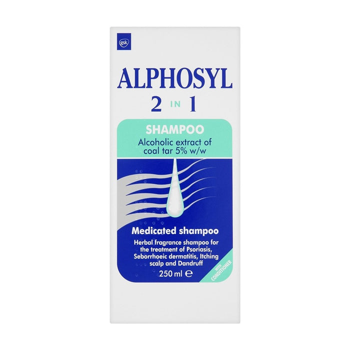 Alphosyl Shampoo 2 In 1 250ml