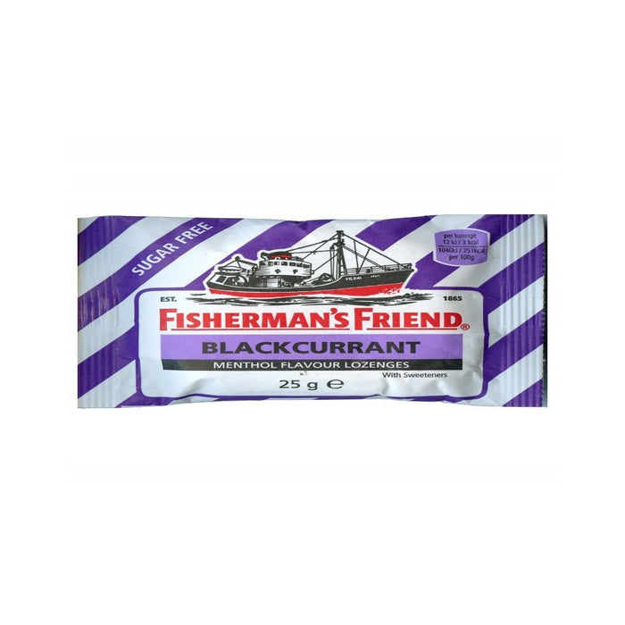 Fishermans Friend Loz Blackcurrant