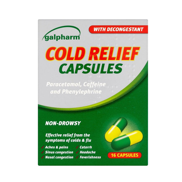 Galpharm Cold Relief Capsules