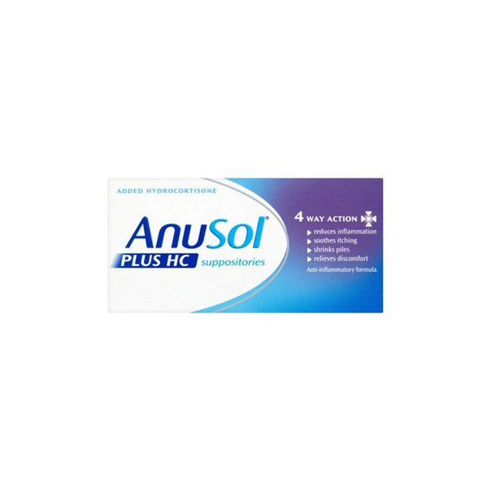 Anusol H.C Suppositories 12'S